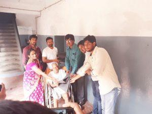 Blanket Distribution at Vizag Oldage Home