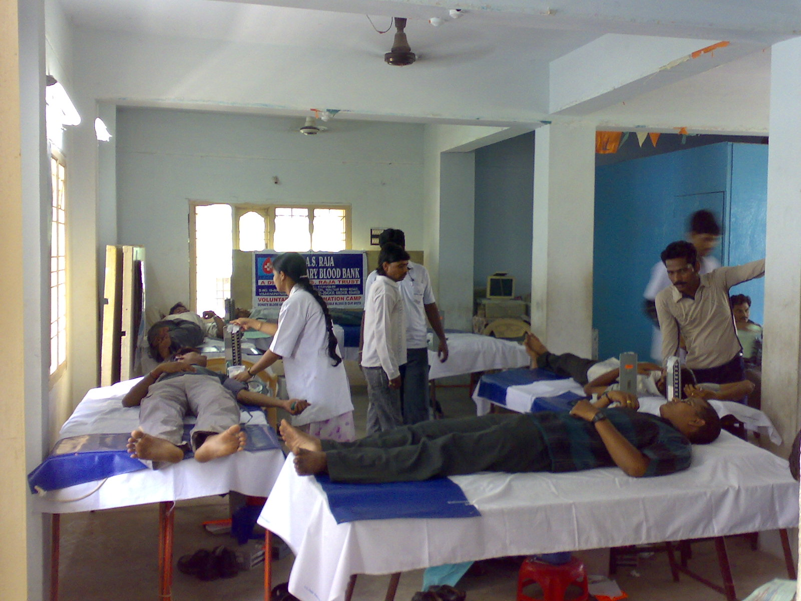 UFC conducted blood camps and helped many people who are in need of Blood
